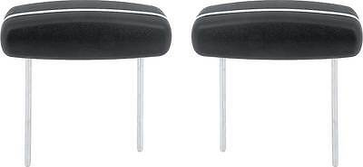 PG Classic 810H-BEN-100  Mopar 68-70 A,B,C-Body Headrest for Bench Seat  (Black)