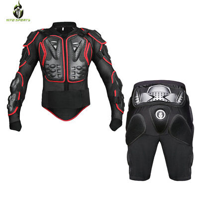 Motocross Motorcycle Body Protective Armor Safety Gear Shorts Racing Jackets Hip
