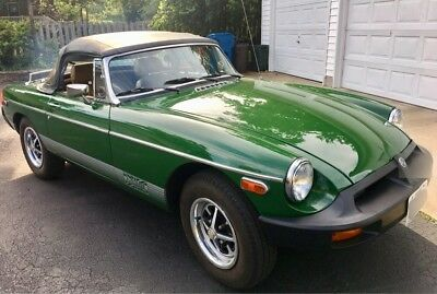 1978 MG MGB 2 Door Convertible 1978 MG MGB
