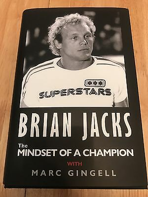 Brian Jacks Judo & Superstars The Mindset Of A Champion ,hard back Autobiography
