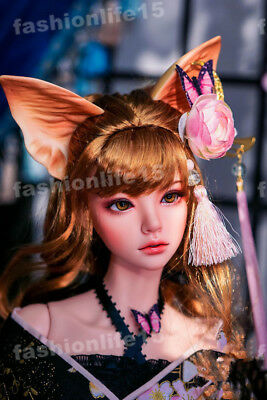 1/4 BJD doll Girl Doll 45cm tall resin free eyes with face make up