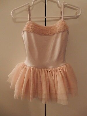 Bloch Kids Camisole Tutu Dress with Ruffles Toddler sz 2-4 Pink Fairy