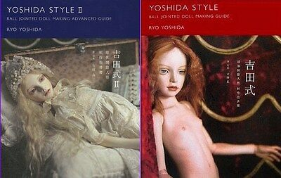RYO YOSHIDA STYLE Ball Jointed Doll Making Guide Book Set BJD Japan Dark Art