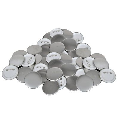 vidaXL Buttonrohlinge Rohlinge für Buttonmaschine Buttonteile 44mm 500 Sets