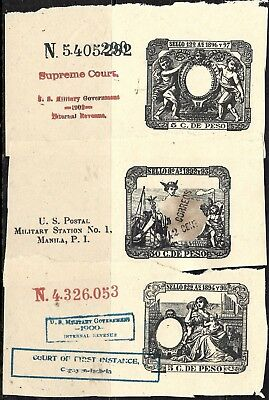 747 - Philippinas - 1892 -  Usa - Labels? - Forgeries? - Faux'?
