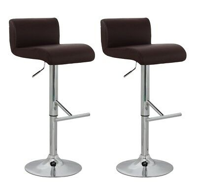 vidaXL 2 x DESIGN Barhocker Bar Stuhl Hocker LOUNGE Sessel Küche Barstühle 31
