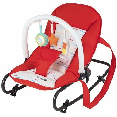 Safety 1st Babywippe Babyschaukel Schaukelwippe Koala Red Lines Rot 2822260000