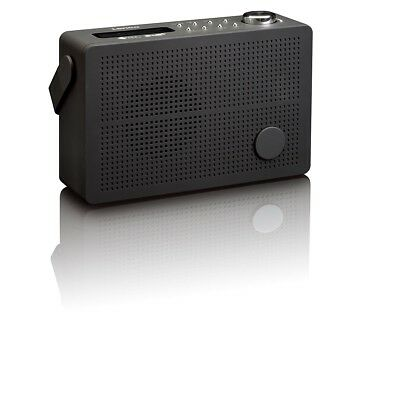 Lenco DAB+/ FM Radio mit Weckfunktion Digitalradio LCD Display PDR-030 Schwarz