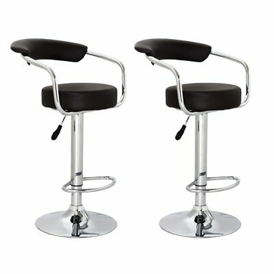 vidaXL 2 x DESIGN Barhocker Bar Stuhl Hocker LOUNGE Sessel Küche Barstühle 63