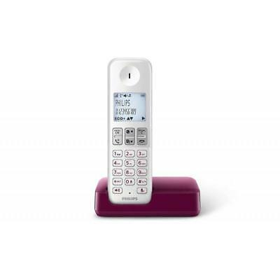 Telefono Philips D2301b Blanco