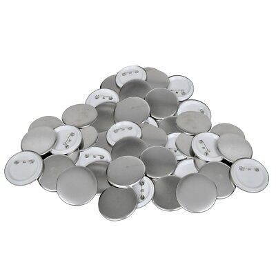 vidaXL Buttonrohlinge Rohlinge für Buttonmaschine Buttonteile 25mm 500 Sets