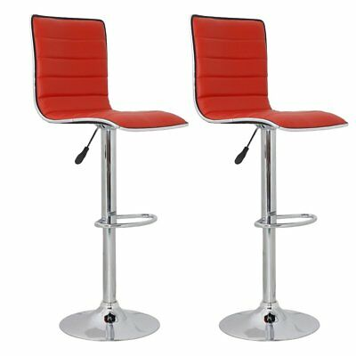 vidaXL 2 x DESIGN Barhocker Bar Stuhl Hocker LOUNGE Sessel Küche Barstühle 50