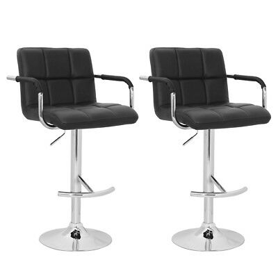 vidaXL 2 x DESIGN Barhocker Bar Stuhl Hocker LOUNGE Sessel Küche Barstühle 21