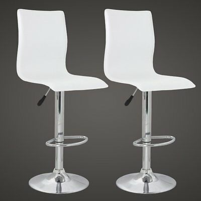 vidaXL 2 x DESIGN Barhocker Bar Stuhl Hocker LOUNGE Sessel Küche Barstühle 70
