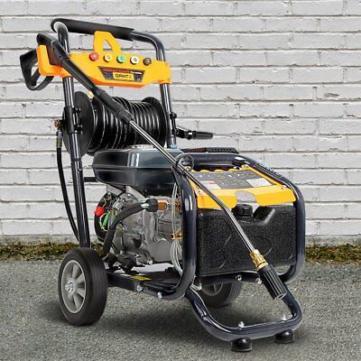 1X GIANTZ 3.6L 20m 8HP 4800PSI High Pressure Washer Cleaner Petrol Water Gurney