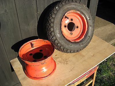 16x6.50-8 TWO WHEELS AND ONE TYRE FOR RANSOMES HIGHWAY 213