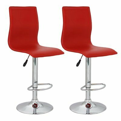 vidaXL 2 x DESIGN Barhocker Bar Stuhl Hocker LOUNGE Sessel Küche Barstühle 68