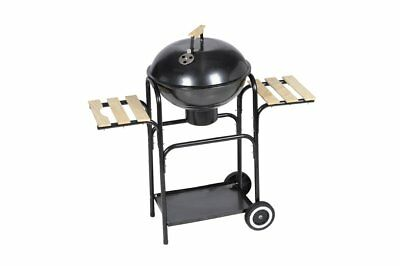 vidaXL Barbecue Grill BBQ Kugelgrill Holzkohlegrill Grillwagen Standgrill 40448