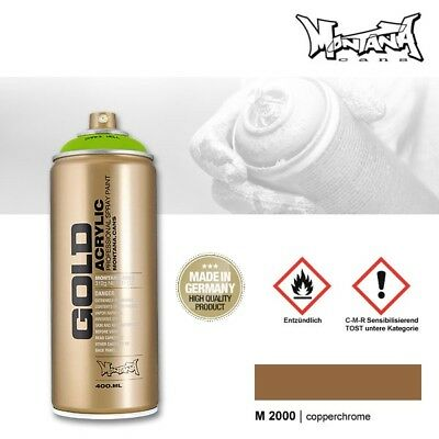 Montana Gold M2000 copperchrome 400 ml Sprühdose