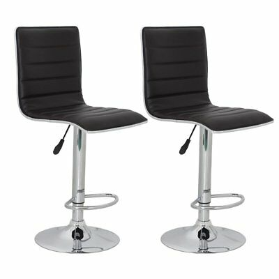 vidaXL 2 x DESIGN Barhocker Bar Stuhl Hocker LOUNGE Sessel Küche Barstühle 49