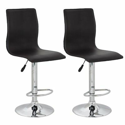 vidaXL 2 x DESIGN Barhocker Bar Stuhl Hocker LOUNGE Sessel Küche Barstühle 67