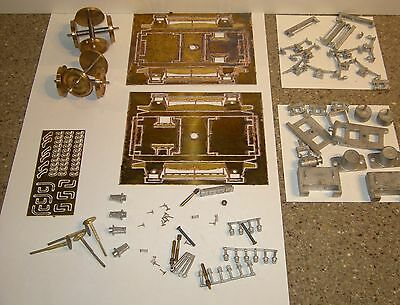 O Gauge Passenger Coach Detailing Kit Including 9ft Bogies & Wheels