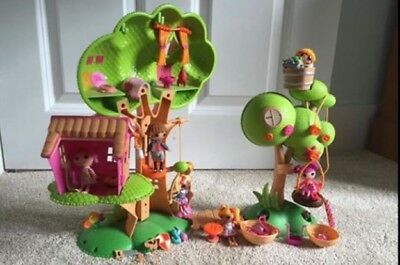 Lalaloopsy tree house, dolls and accessories