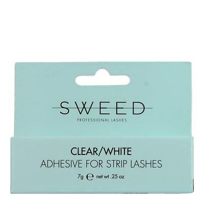 Sweed Adhesive Clear/White ★ Adhesive for Strip Lashes 7g