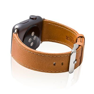 SVAEX Watch Straps for Apple Watch - 38 / 42 mm - Genuine Retro Leather Band
