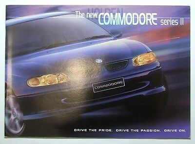 HOLDEN COMMODORE SERIES II 2000 SALES BROCHURE - Like New FREE POST