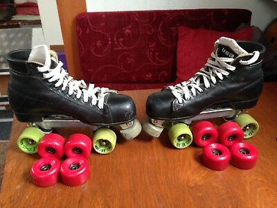 Riedell Quad Hockey Roller Skates Size 10 USA