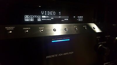 Home theater SONY 7.1 HDMI av receiver with original remote & phono input. Heavy