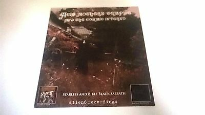 ACID MOTHERS TEMPLE - starless & bible PROMO FLYER!  amt / psych