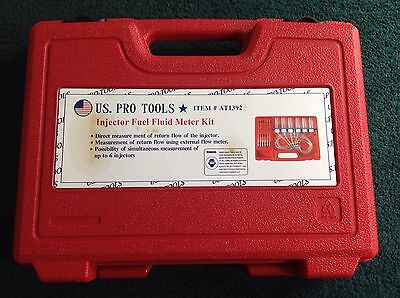 Us Pro Tools Injector Fuel Fluid Meter Kit At1392 - Flow Meter Common Rail Set