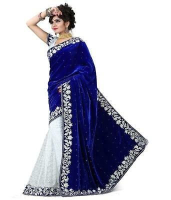 Diwali Indian Bollywood New Designer Saree Wedding Party wear Pakistani Sari