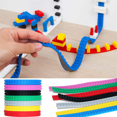 1M Lego Compatible Tape Toy Block Flexible Sticky 10 Colours CHEAPST Top Quality