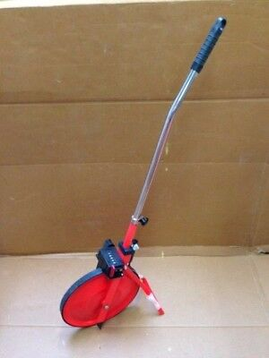 Distance Measuring Road Wheel With Stand & Carry Bag, Surveyors Wheel