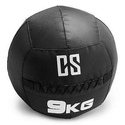 CAPITAL SPORTS Restricamo Medecine ball Wallball PVC Double couture 6kg noir