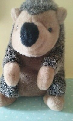 Large hedgehog soft toy approx 14 inches tall