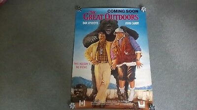 The Great Outdoors Original UK video store poster
