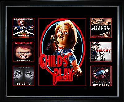 Chucky Series Limited Edition Framed Memorabilia
