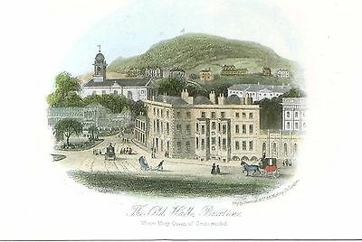 Old Hall Hotel - The Square - Buxton - Derbyshire - Postcard 2000's