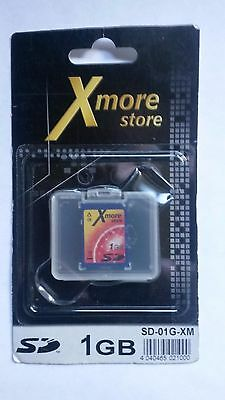 XMore Store 1 Gb SD Memory Card Secure Digital Nikon Canon Cameras New
