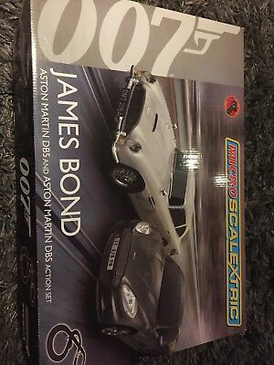 James Bond Micro Scalextric, only used once