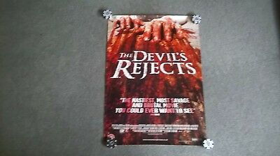 The Devils Rejects  Original UK video store poster