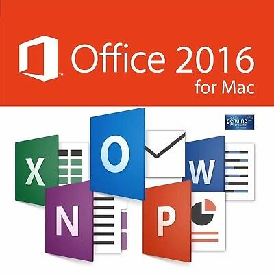 Microsoft Office 2016 For Mac Home & Business - (FULL PRODUCTS) (NO EXTRA FEES)