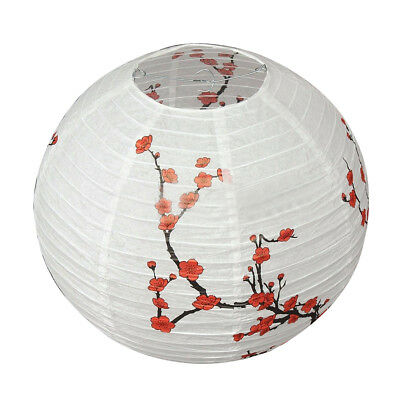 14'' Lamp Shade Paper Lantern Oriental Style Light Decoration E5L2