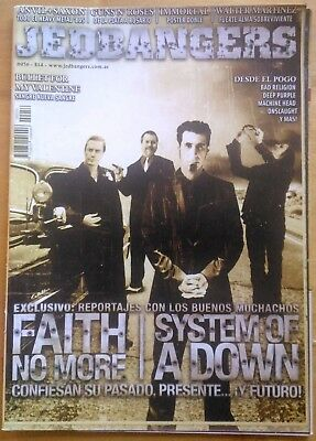 Faith No More And System Of A Down On Cover Jedbangers Magazine Argentina