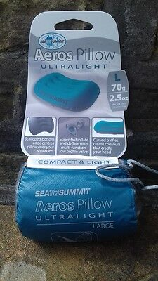 Sea to Summit Aeros Ultralight Pillow Large Inflatable 70g 2017