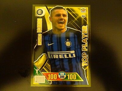 Top Player calciatori Mauro Icardi 466 Inter 2018 adrenalyn XL official trading
